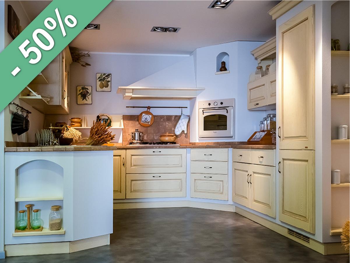 Cucina SCAVOLINI modello BELVEDERE - Arredamenti Giurini